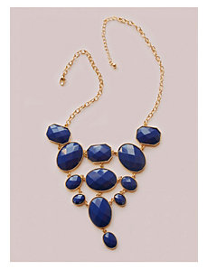 Angelina Necklace in Navy by IGIGI