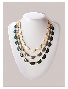 Candace Necklace in Olive by IGIGI