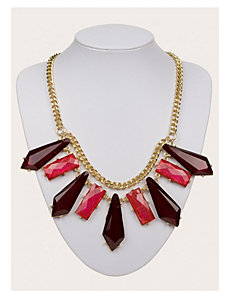 Kendall Necklace in Maroon by IGIGI