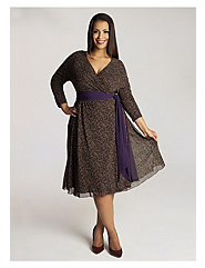 Fayette Dress in Purple