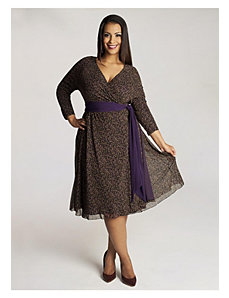 Fayette Dress in Purple by IGIGI