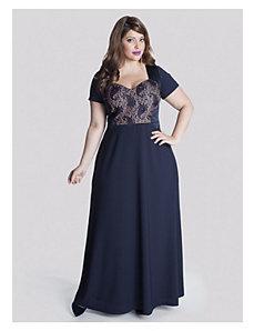 Liv Gown in Sapphire by IGIGI