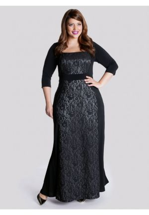 Talula Gown in Platinum