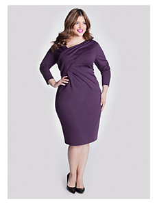 Zola Dress in Daylily Purple by IGIGI