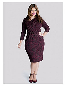 Zola Dress in Cabernet by IGIGI