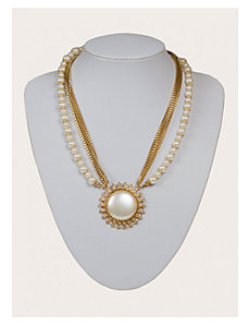 Genevieve Necklace in Gold by IGIGI