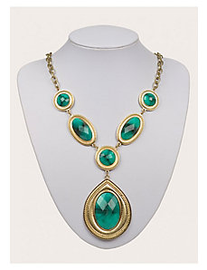 Milania Necklace in Turquoise by IGIGI