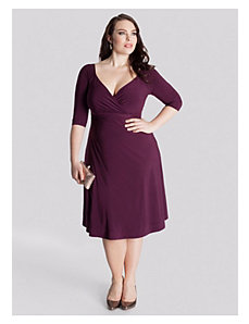 Francesca Dress in Dark Currant by IGIGI