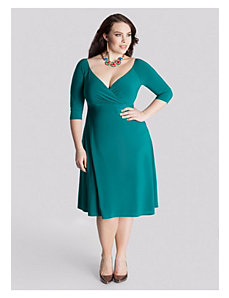 Francesca Dress in Deep Emerald by IGIGI