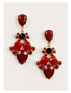Mariam Earrings in Scarlet by IGIGI