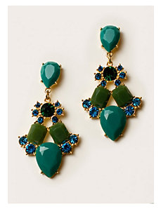 Mariam Earrings in Teal by IGIGI