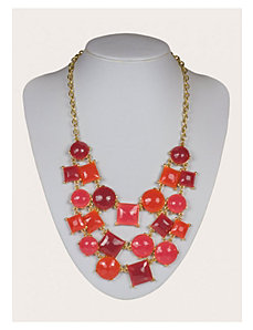 Gabby Necklace in Raspberry by IGIGI