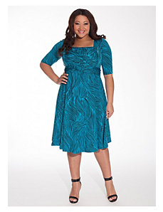 Tiffany Dress in Turquoise Waves by IGIGI
