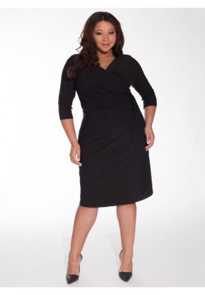 Brenda Dress in Onyx