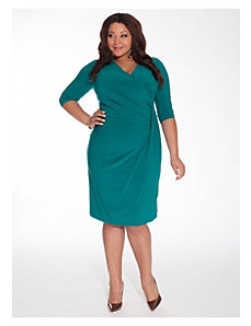 Brenda Dress in Jade Malachite by IGIGI