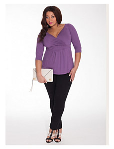 Arabelle Top in Purple Orchid by IGIGI