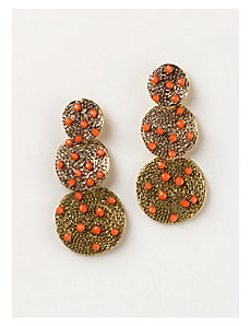 Yesenia Earrings in Coral by IGIGI