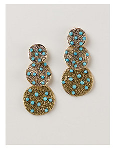Yesenia Earrings in Turquoise by IGIGI