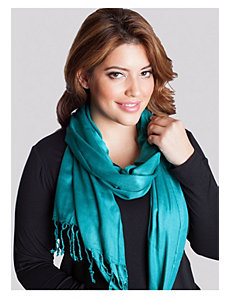 Pashmina Scarf in Emerald by IGIGI