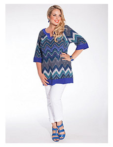 Grenada Tunic in Cobalt by IGIGI