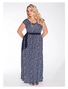 Tiana Maxi Dress in Hampton Royal by IGIGI