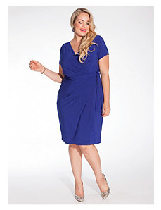 Braelyn Dress in Royal Blue by IGIGI