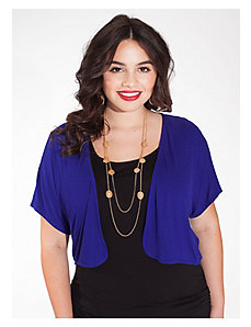 Sophia Shrug in Royal Blue by IGIGI