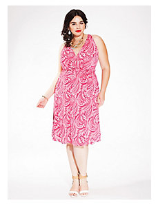 Heidi Halter Dress in Fuchsia Cachemire by IGIGI