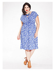 Gemma Dress in Cobalt Cachemire by IGIGI