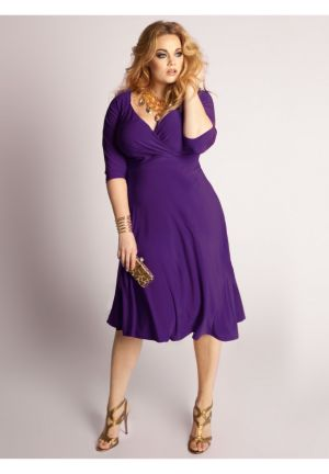 Francesca Dress in Amethyst