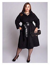 Taylor Coat in Black by IGIGI by Yuliya Raquel