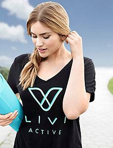 Livi Active logo tee