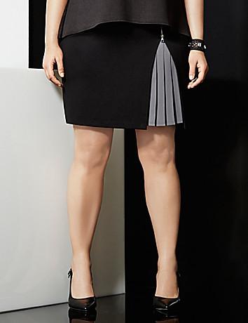 6th & Lane pleated skirt