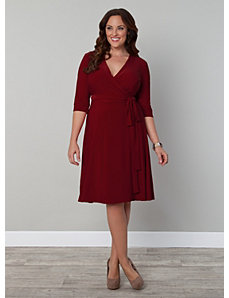 Legacy Wrap Dress by Kiyonna