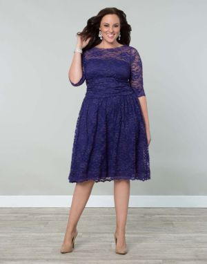 Scalloped Luna Lace Dress