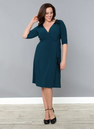 Julieanne Wrap Dress