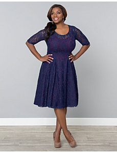 Sweet Leah Lace Dress by Kiyonna