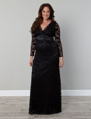 Analisa Lace Column Dress