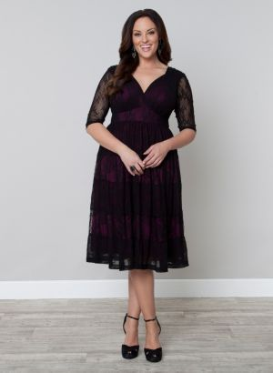 Tiers of Joy Lace Dress