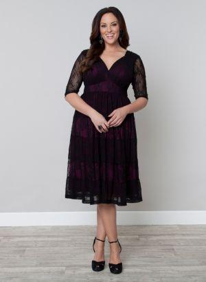 Tiers of Joy Lace Dress