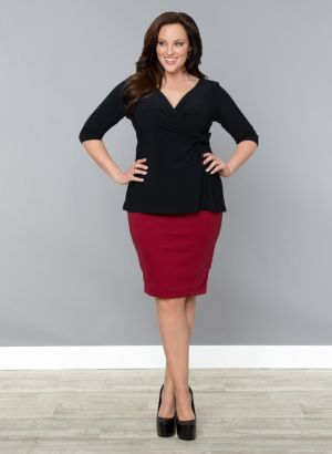 Curvy Pencil Skirt