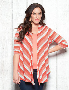 Brooke Stripe Bellini by Kiyonna