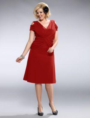 Alexandra Gathered Dress