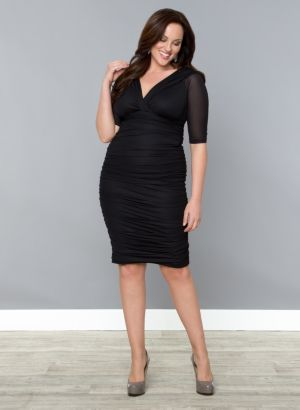 Betsey Ruched Dress