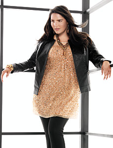 Leather jacket by Lane Bryant