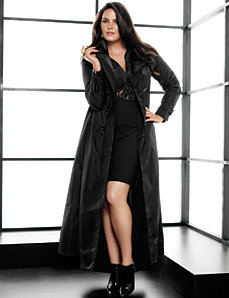 Long trench coat by Lane Bryant