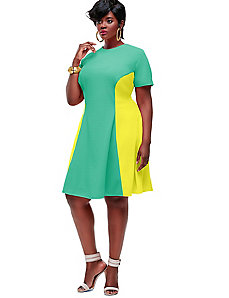 Janel Colorblock Tennis Dress - Mint by Monif C.