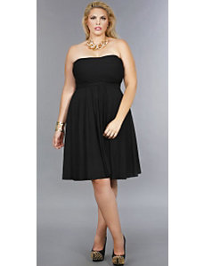 'Marilyn' Short Convertible Dress 20 - Black by Monif C.