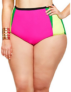 Santa Rosa Bikini Brief - Pink Multi by Monif C.