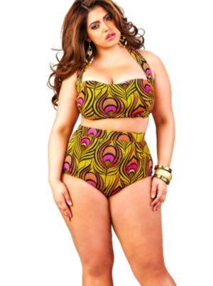Sao Paulo High-Waisted Bikini Top